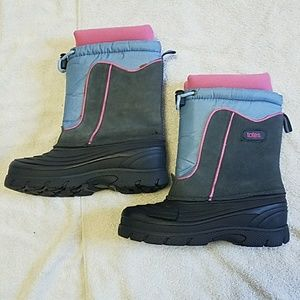 Totes Snow Winter Boots Size 4